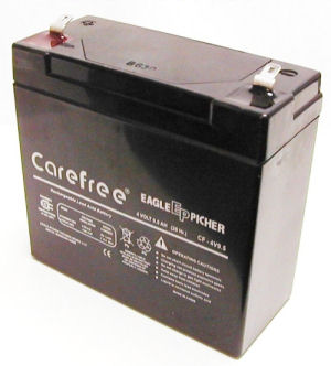 Emergency Light Replacement Battery 12V 12AH
