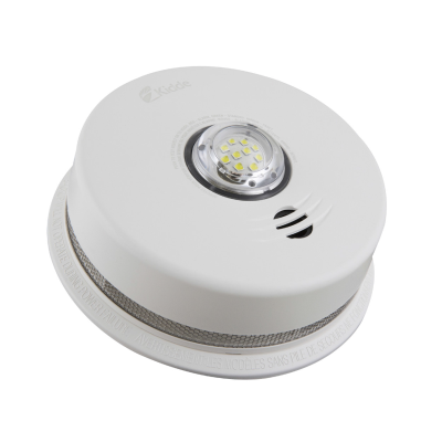 Kidde Talking Smoke Alarm with LED Strobe