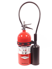 CO2 Extinguisher - 10 lb