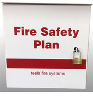 Fire Safety Plan Box