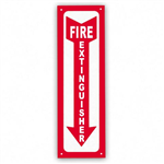 Fire Extinguisher Sign 2 Metal