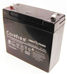 Emergency Light Replacement Battery 6V 7 AH