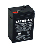Emergency Light Replacement Battery 6V 4AH