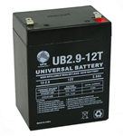 Fire Alarm Replacement Battery 12V 2.9AH