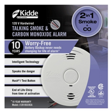 Talking Smoke & CO Alarm Battery Sealed