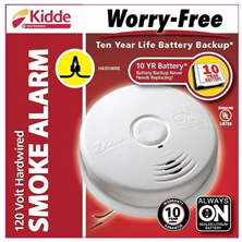 10-Year Battery Worry-Free Smoke Alarm