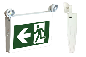 Running Man Combo Exit Emergency Light Unit